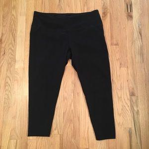 Style & Co black leggings size 3x